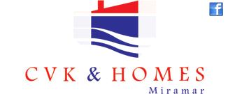 Logotipo de CVK & HOMES
